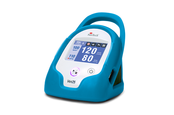Picture of the SunTech Vet25 Veterinary Blood Pressure Monitor