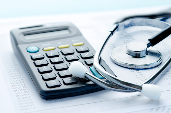 Center for Medicare and Medicaid Services Reconsidering ABPM Reimbursement and Coverage stethoscope with calculator